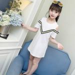 เสื้อ สีขาว แพ็ค 5 ชุด ไซส์ 110-120-130-140-150 (เลือกไซส์ได้)