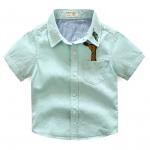 เสื้อ สีเขียว แพ็ค 5ชุด ไซส์ 90-100-110-120-130