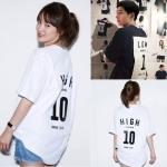 เสื้อยืด (T-Shirt) Series 1 To 10 แบบ Joongki+Hyekyo