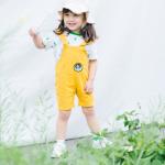 เอี๊ยมกางเกง สีเหลือง แพ็ค 5ชุด ไซส์ 80cm-90cm-100cm-110cm-120cm