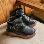 รองเท้าเด็กแฟชั่น สีดำ แพ็ค 5 คู่ ไซส์ 27-28-29-30-31