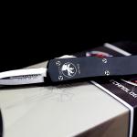 Microtech UTX-70 Mini DE Satin Plain Blade CA147-4