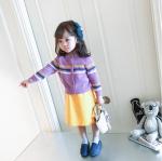 เสื้อคลุม (ไม่รมเสื้อตัวใน) สีม่วง แพ็ค 5ชุด ไซส์ 80cm-90cm-100cm-110cm-120cm