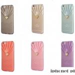 เคส iphone 6 plus ขนาดหน้าจอ 5.5 นิ้ว ซิลิโคน TPU Rhinestone สีใสสุดหรูหรา ราคาถูก