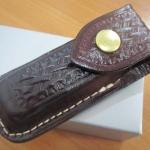 VICTORINOX Zermatt Belt Pouch Medium Brown Leather Pocket Knife VN33202