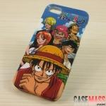 case iphone 5 เคสไอโฟน5 เคสซิลิโคนลายการ์ตูนวันพีซ The Japanese cartoon one piece