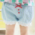กางเกง สีฟ้าอ่อน แพ็ค 5 ชุด ไซส์ 100-110-120-130-140