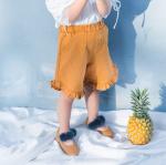 กางเกง สีเหลือง แพ็ค 5ชุด ไซส์ 80cm-90cm-100cm-110cm-120cm