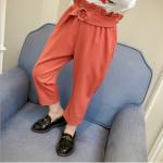 กางเกง สีส้ม แพ็ค 5 ชุด ไซส์ 100-110-120-130-140