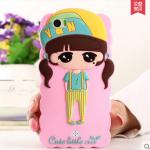 Case OPPO Mirror 5 ซิลิโคน 3D สามมิติเด็กผู้หญิงน่ารัก สดใส น่ารักมากๆ ราคาส่ง ราคาถูก