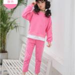 เสื้อ+กางเกง สีโรส แพ็ค 5 ชุด ไซส์ 120-130-140-150-160 (เลือกไซส์ได้)