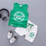 ชุดเซตเสื้อกล้ามสีเขียว [size 6m-1y-2y-3y]