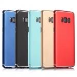เคส Samsung S8 พลาสติกสีพื้นเมทัลลิคสวยงามมาก ราคาถูก