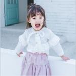 เสื้อ สีขาว แพ็ค 5ชุด ไซส์ 80cm-90cm-100cm-110cm-120cm