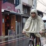 เสื้อกันฝน CAMBRIDGE STOWABLE RAIN CAPE (olive,pearl gray,Geranium and Orange)