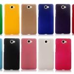เคส Huawei Y7 พลาสติกสีพื้นเรียบๆ ดูดี ควรมีติดไว้ ราคาถูก
