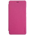 Nillkin Sparkle leather case for Xiaomi Redmi Note 2 / Redmi Note2 Prime - สีชมพู
