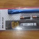 Maglite SPP01H Mini Maglite LED 2 Cell AA Pro+ Flashlight, Blue