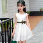 ชุดกระโปรง สีขาว แพ็ค 5 ชุด ไซส์ 120-130-140-150-160