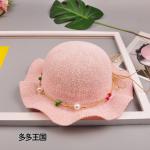 หมวก สีชมพู แพ็ค 5ใบ ไซส์รอบศรีษะ 52cm
