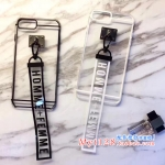 เคส iPhone 7 Plus (5.5 นิ้ว) พลาสติกแบบโปร่งใสตัดขอบ สวยมากๆ พร้อมที่คล้องมือเข้าชุด ราคาถูก