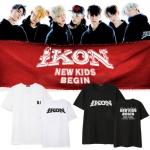 เสื้อยืด เสื้อแฟชั่นไอดอล #iKON NEW KIDS BEGIN (พรีออเดอร์)