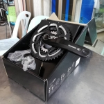 จาน XT, FC-T781, 10-SPD, 48/36/26T, สีดำ, 175MM, 170MM (มีกะโหลก),มีกล่อง
