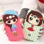 เคส Mega 5.8 Case Samsung Galaxy Mega 5.8 ซิลิโคนเด็กผู้หญิงแสนหวานน่ารักแนวคุณหนู ร่าเริง สดใส ราคาส่ง ราคาถูก ราคาปลีก