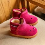 รองเท้าเด็กแฟชั่น สีโรส แพ็ค 5 คู่ ไซส์ 26-27-28-29-30