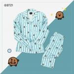 #BT21 PAJAMAS ชุดนอน (เสื้อ+กางเกง) : CHOOKY