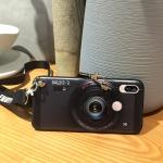 เคส Huawei Nova 3e (P20 Lite) ซิลิโคนรูปกล้องถ่ายรูปสุดเท่ ตรงเลนส์สามารถยืดออกมาตั้งได้ พร้อมสายคล้อง ราคาถูก