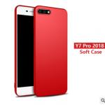 เคส Huawei Y7 Pro 2018 TPU สีพื้นเรียบหรู สวยงามพร้อมแหวนแล้วแต่สีร้านจีนแถมมา ราคาถูก