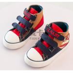 รองเท้าเด็กแฟชั่น สีกรม แพ็ค 6 คู่ ไซส์ 31-32-33-34-35-36