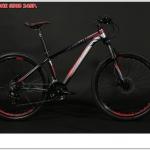จักรยานเสือภูเขา XERO-ONE ,ZERO650b24 เฟรมอลู เฟรมอลูลบรอยเชื่อม ซ่อนสาย ,ดิสน้ำมัน 2018