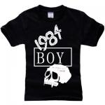 เสื้อยืดแฟชั่น BIGBANG BOY 1984 สีดำ สำเนา