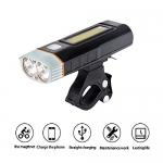ไฟหน้า SGODDE HJ-048 LED Bike Lights Front, Power Bank and Hand Lantern 3in1, USB Rechargeable 500Lumens