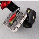 เคส OPPO F1 Plus พลาสติก TPU ลายดอกไม้ พร้อมสายคล้องมือและกระเป๋าเก็บสายหูฟัง ราคาถูก