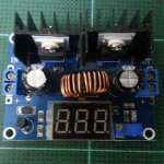 STEP DOWN MODULE WITH VOLTMETER 8 A