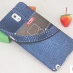 เคสซัมซุงโน๊ต3 Case Samsung Galaxy note 3 พลาสติกสกรีนลายยีนส์สุดเท่ ราคาส่ง ขายถูกสุดๆ