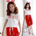 เสื้อ สีขาว แพ็ค 3 ชุด ไซส์ 140-150-160 (เลือกไซต์ได้)