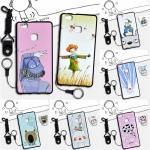 เคส Huawei P9 Lite ซิลิโคน soft case สกรีนลายการ์ตูนน่ารักๆ พร้อมสายคล้องและแหวน ราคาถูก