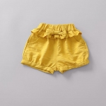 กางเกง สีเหลือง แพ็ค 4 ชุด ไซส์ 70-80-90-100