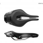 SELLE ITALIA อานนั่ง, IRON FLOW, ขนาด S, สีดำ (Triathlon), S1/2/3