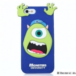 เคส iphone 4 เคสไอโฟน4s Monsters University Silicone 3D