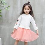 เสื้อ+กระโปรง สีขาว แพ็ค 5 ชุด ไซส์ 120-130-140-150-160 (เลือกไซส์ได้)