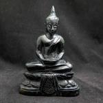 พระพุทธรูปหยกดำแกะสลัก (Buddha Craving Black Jade)