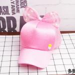 หมวก สีชมพู แพ็ค 5ใบ ไซส์รอบศรีษะ 54cm