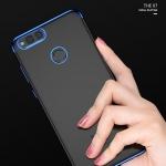 เคส Huawei Honor 7X ซิลิโคน soft case คริสตัลเคลียร์โปร้งใสขอบเงางาม ราคาถูก