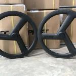 ล้อ Sprint คาร์บอน 3 ก้าน ดุมวีเบรค V-Brake Tri-spoke Full Carbon Wheelset 2018(หน้า+หลั)