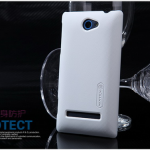 Case HTC 8S >> Nillkin Super Shield Shell Skin สีขาว